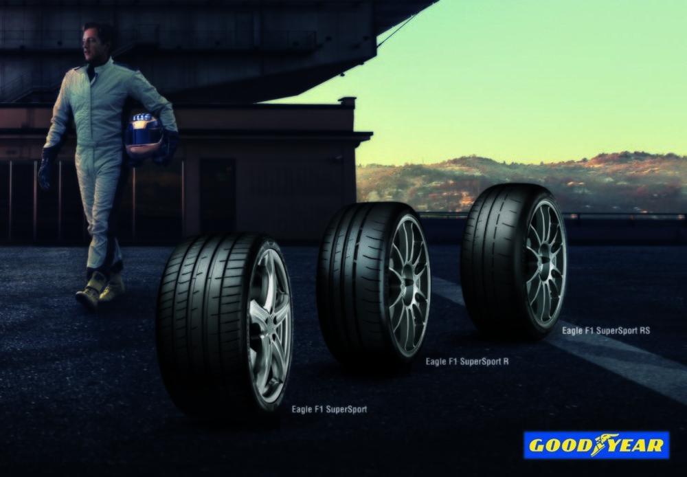 La nueva gama SuperSport de Goodyear añade versiones R y RS por si eres de utilizar tu deportivo dentro de un circuito. Ambas están homologadas para la calle y tienen compuestos desarrollados en las 24 Horas de Le Mans.