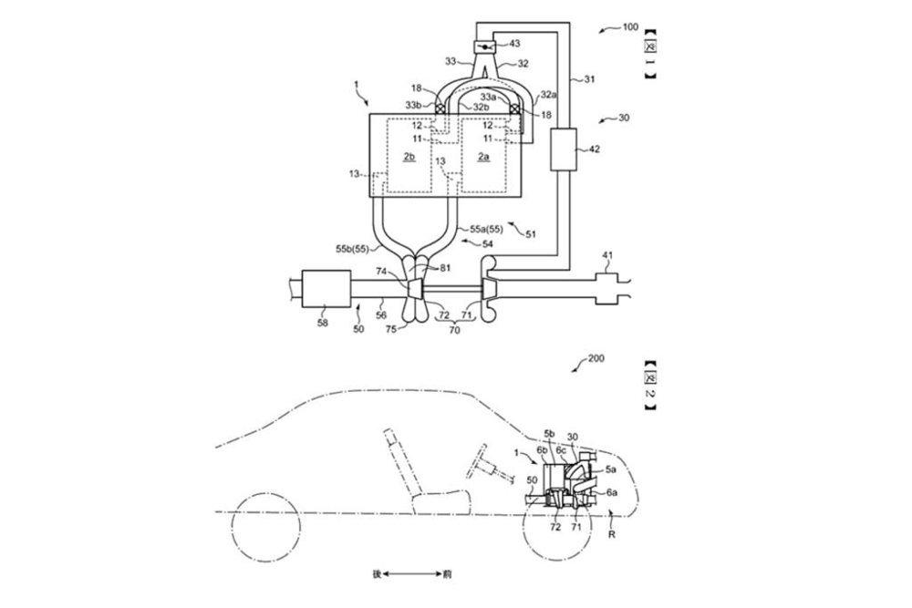 En la oficina de patentes de Japón, Mazda ha registrado estas patentes de un posible motor rotativo y sobrealimentado, que sería el corazón para impulsar a su futuro deportivo.