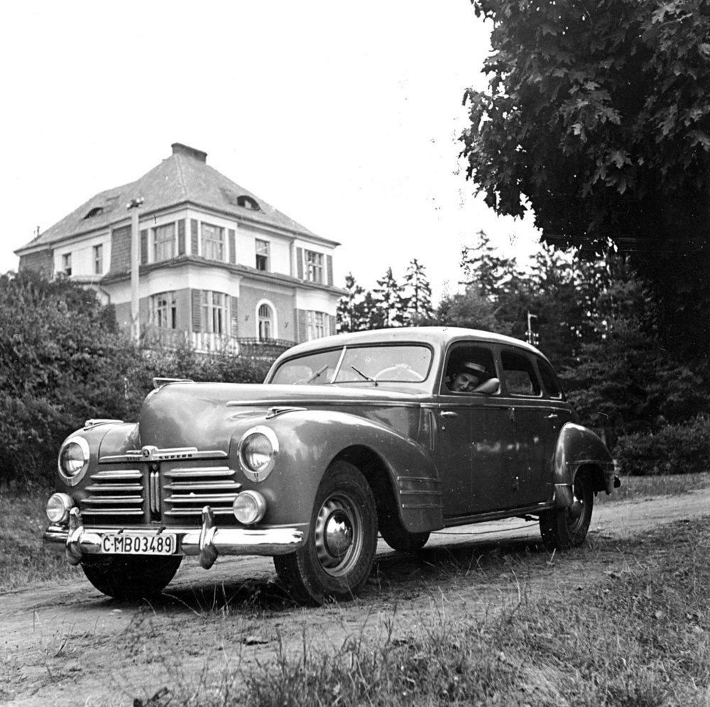 Skoda Superb OHV original de 1948