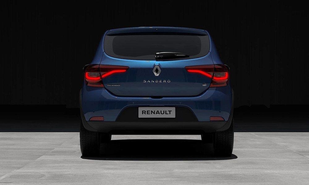 El diseño exterior de este Renault Sandero (aquí llegará como Dacia, no te preocupes) se actualiza considerablemente y luce iluminación exterior LED entre otras muchas cosas.
