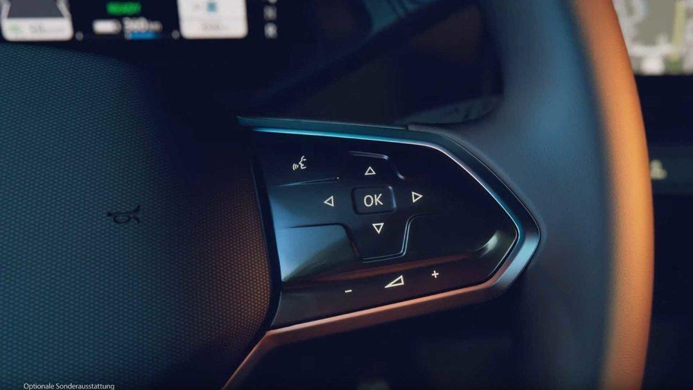 Controles en el volante