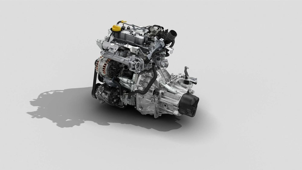 Este corazón TCe 100 reemplaza al anterior SCe 115. Es menos potente, pero ofrece prestaciones muy parejas y es mucho más ahorrador. Su par motor está disponible a 2.750 rpm y tiene tres cilindros.