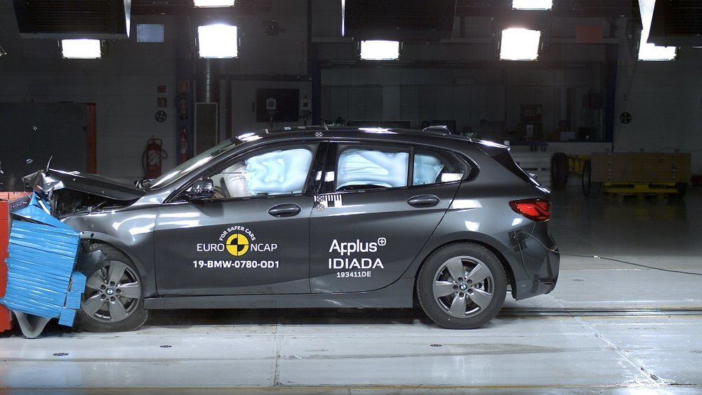 La nueva generación del BMW Serie 1 obtiene 5 estrellas, la máxima puntuación.