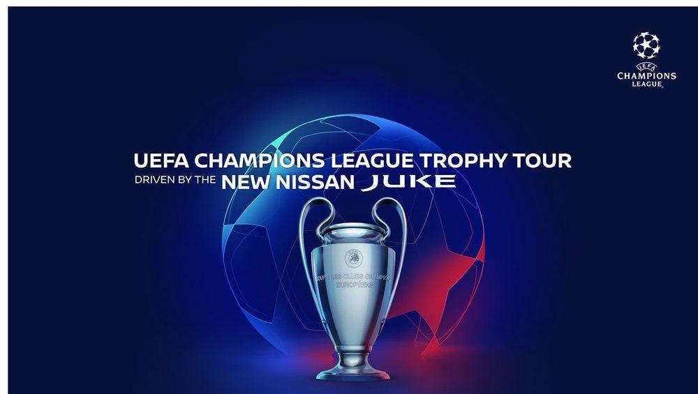 Alemania, España, Francia y Reino Unido son los países que visitará el trofeo.