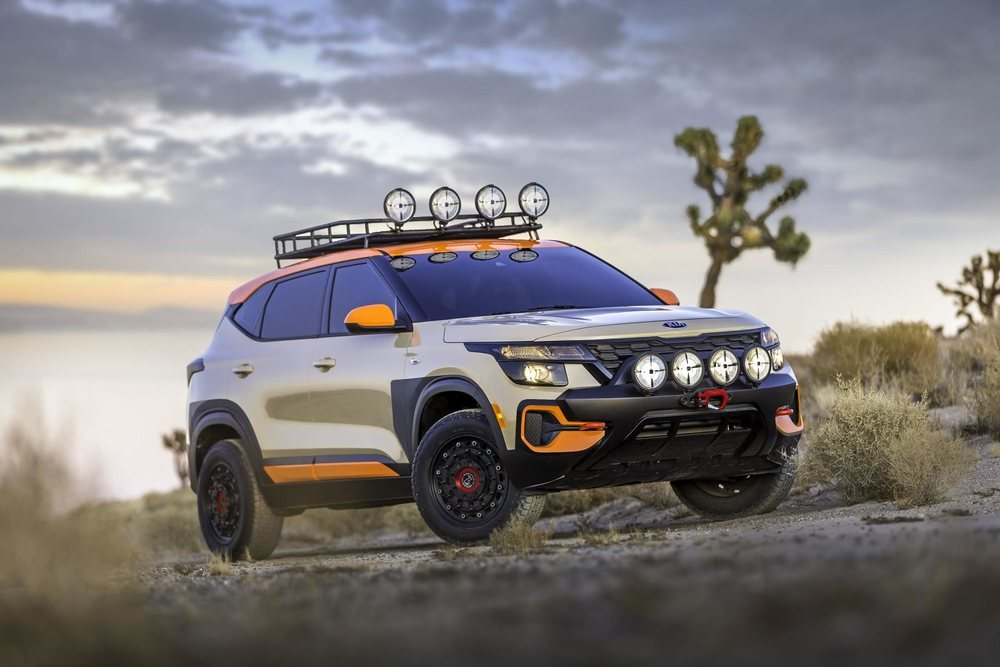 <strong> Seltos X-Line Trail Attack Concept</strong>