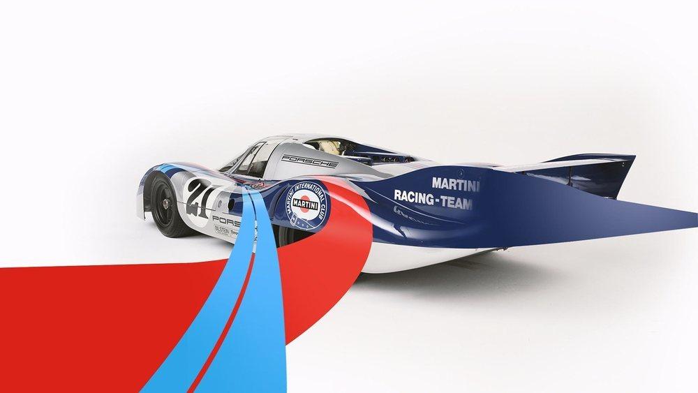 Los inconfundibles colores de la exitosa bebida italiana también han decorado la carrocería del 917.