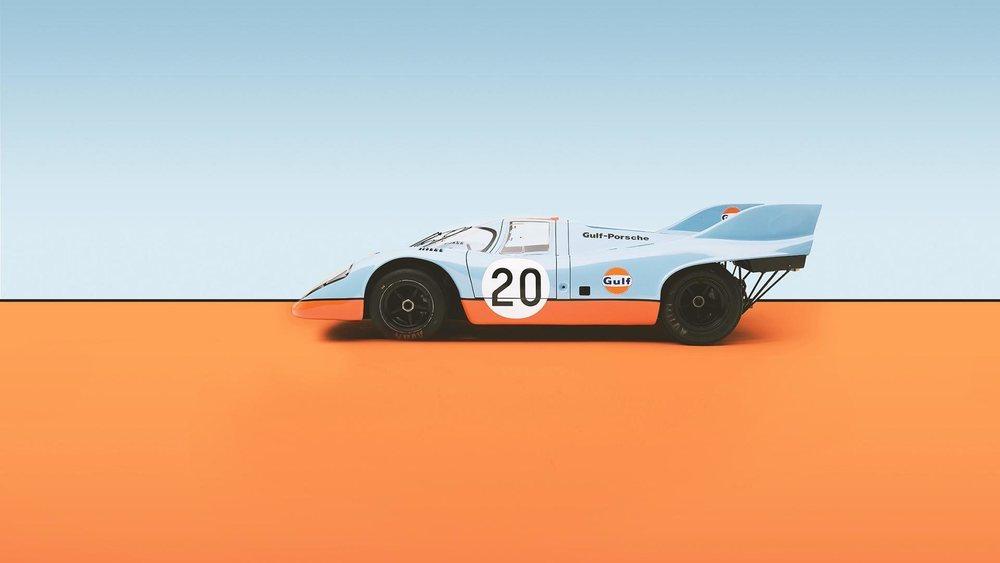 El naranja y azul de la petrolera Gulf son todo un icóno en el mundo de la competición.