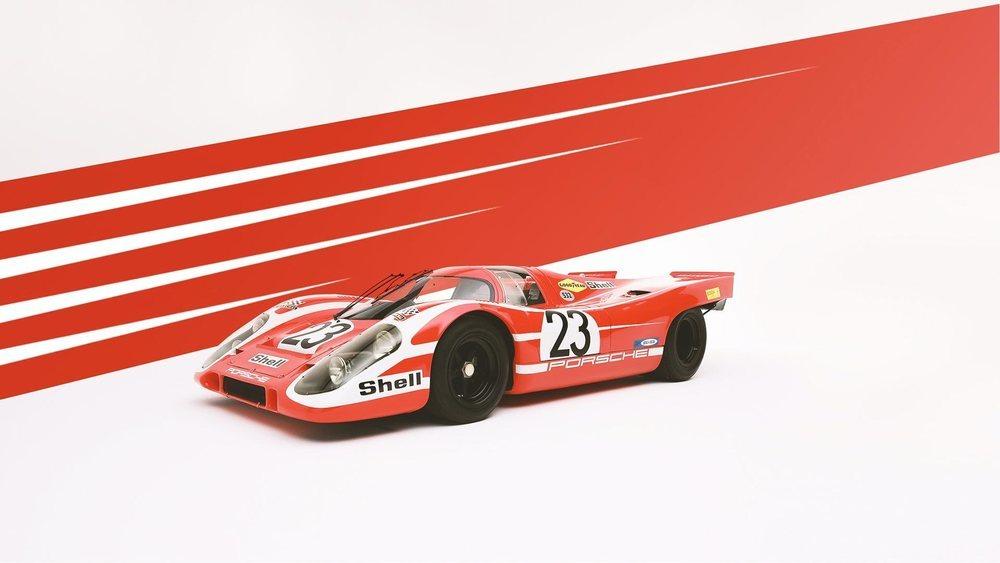 La bandera de Austria inspiró la decoración Salzburg Red con la que el 917 consiguió la victoria en Le Mans.