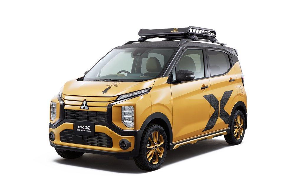 Este llamativo kei car presume de capacidad off-road gracias a sus nuevos componentes y se podría llegar a convertir en una edición especial en el futuro.