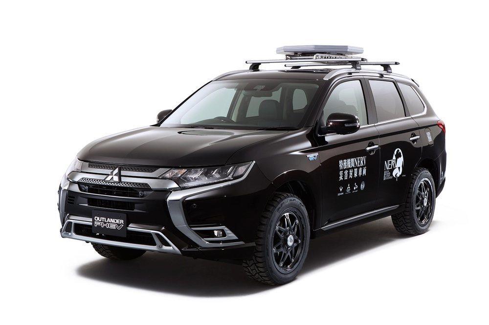 Esta versión del Outlander PHEV viene equipada con una antena vía satélite que nos dota de comunicación en cualquier parte del mundo.
