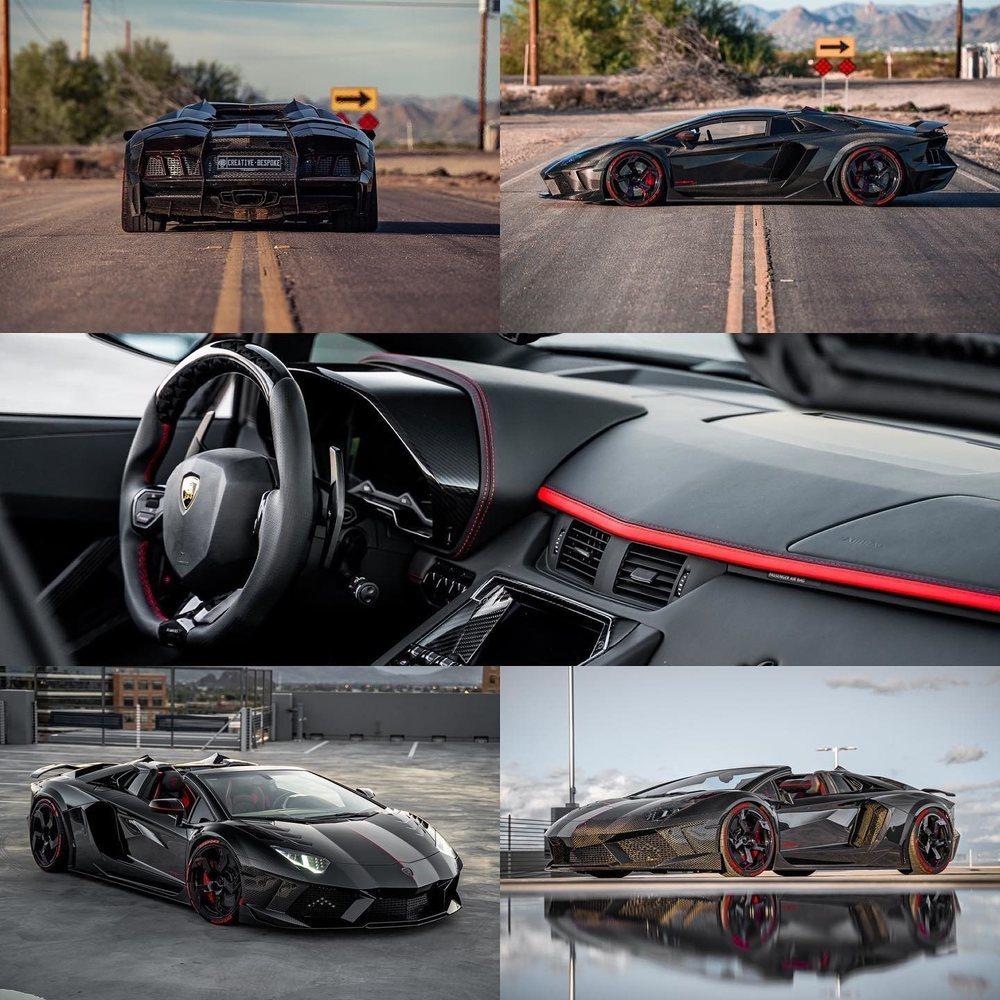 Los expertos de Mansory solo han fabricado tres unidades como este Aventador S Roadster Carbonado. Este se encuentra a la venta por cerca de 800.000 dólares.