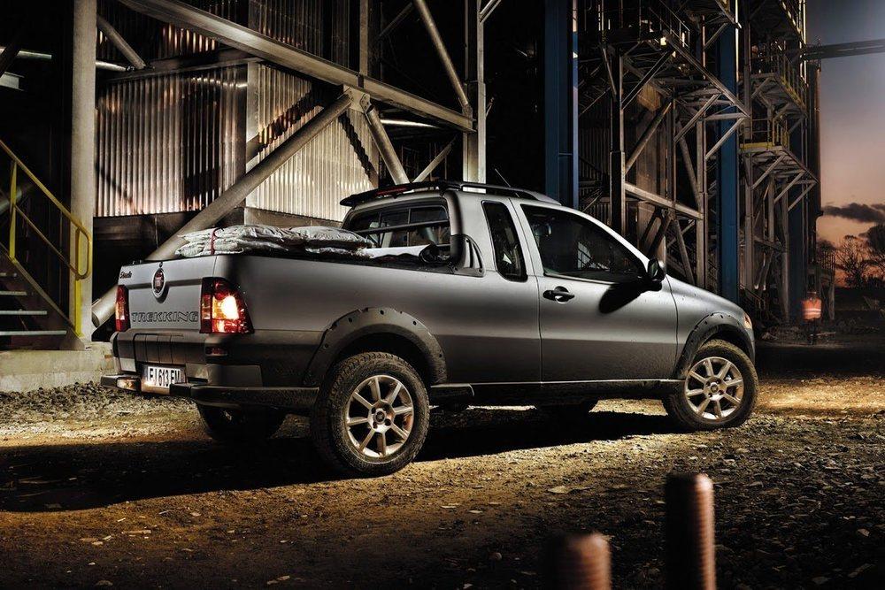 El actual Fiat Strada lleva en activo desde que fuera lanzado en 1996 sobre la base del desaparecido Fiat Palio.