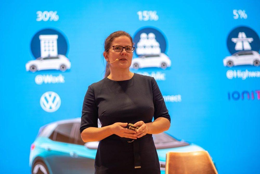 <strong>Silke Bagschik, responsable mundial de Ventas y Marketing de electromovilidad en Volkswagen</strong>