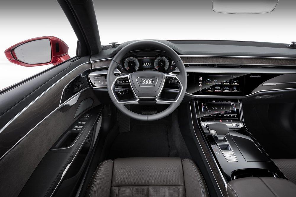 Audi A8 MMI touch