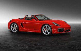 Porsche Boxster S. El pequeño se pone rojo