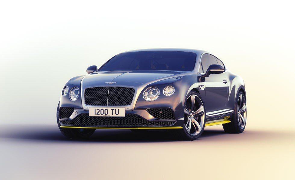 Bentley Continental GT Speed Breitling Jet