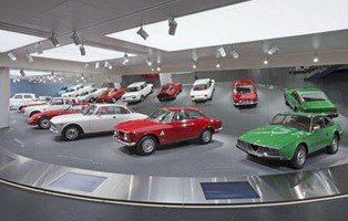 Museo Alfa Romeo en Arese. Bautizado como