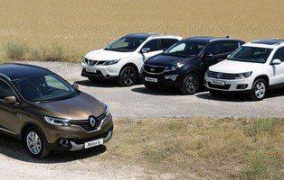 El Renault Kadjar frente a sus rivales