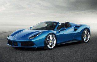 Ferrari 488 Spider. Alta velocidad a techo descubierto