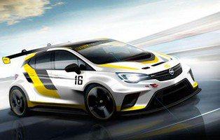 Opel Astra TCR. Vitaminado al máximo para competiciones Touring