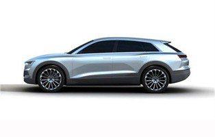 Audi Q6. Primeras imágenes filtradas