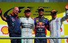 En 2014, Red Bull y Ricciardo pescaban en las aguas revueltas de Mercedes