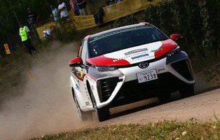 Toyota Mirai WRC. Abriendo camino en el Rally de Alemania