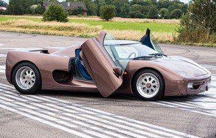 Koenigsegg Prototype. Este el primer coche de Christian Von Koenigsegg