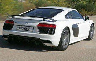 Audi R8 V10 Plus. Esto sí es un deportivo