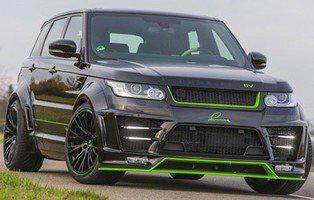 Lumma CLR SV. El Range Rover Sport más salvaje