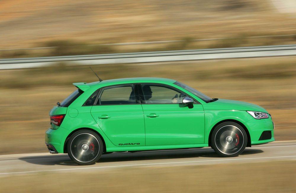 Rápido y muy divertido. El Audi S1 destaca, además, por su gama de colores.