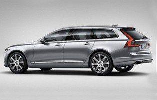 Volvo V90. Este es su aspecto definitivo
