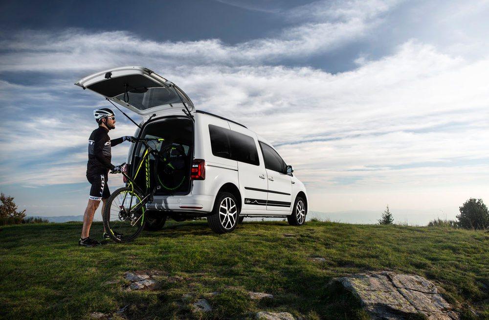 El Volkswagen Caddy Outdoor se convierte en un vehículo perfecto para disfrutar del tiempo de ocio.