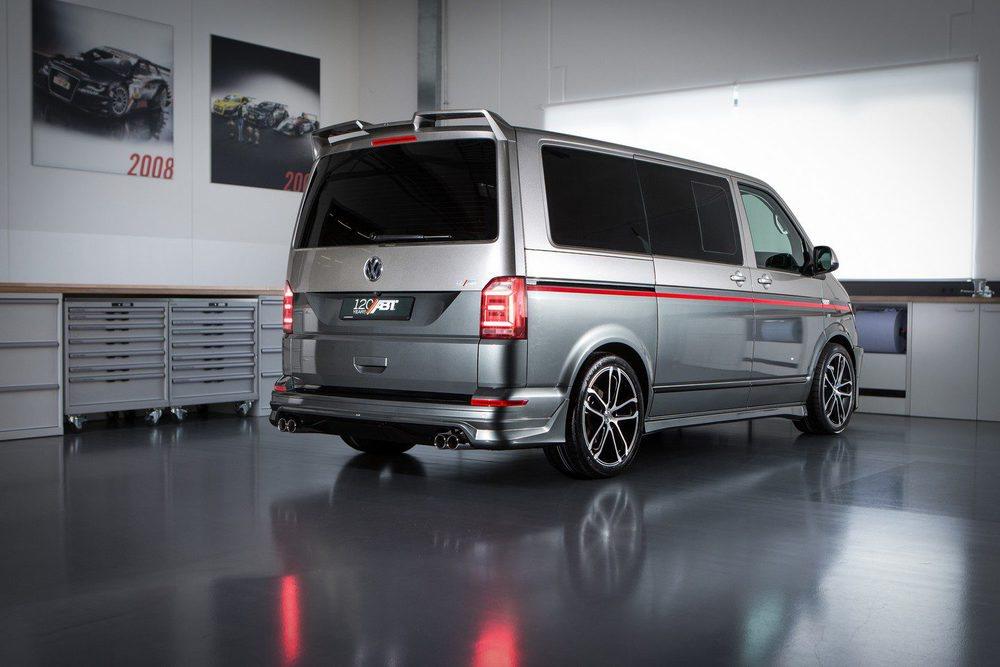 ABT incluso ofrece un sistema de escape deportivo con cuatro terminales. Estas llantas de 20 pulgadas con neumáticos 275/35 tiene un precio d 4.880 euros