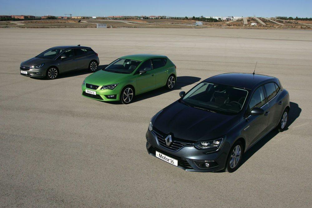 Los tres modelos de la comparativa cuentan con motores diésel con potencias entre 130 y 150 caballos.