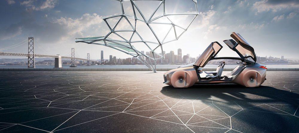El diseño recuerda a BMW, pero es absolutamente futurista.