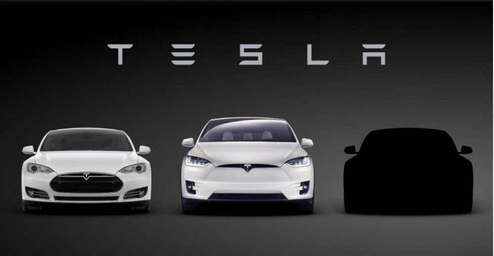 Tras el Model S y el Model X, el tercer integrante de la gama Tesla será el Model 3.