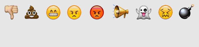 ¿Serán estos algunos de los mensajes que se puedan ver en las matrículas con emoticonos?