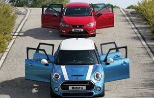 Mini Cooper 5p / Seat León FR. Entre el capricho y la lógica