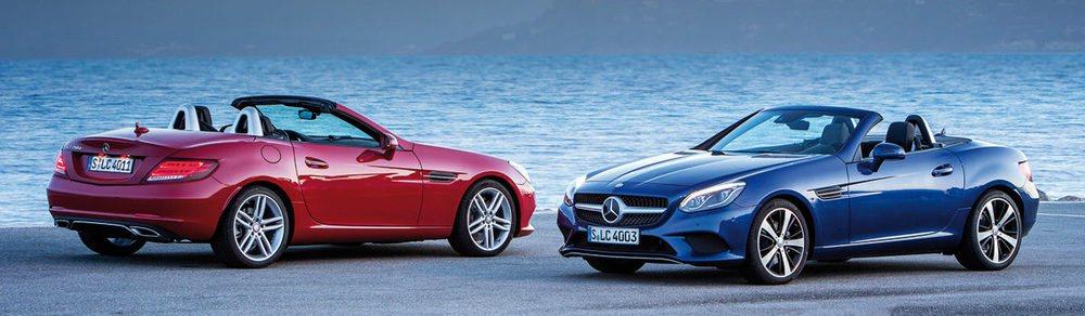 El Mercedes SLC es el sucesor del clásico SLK. En España se venderá con dos motorizaciones.