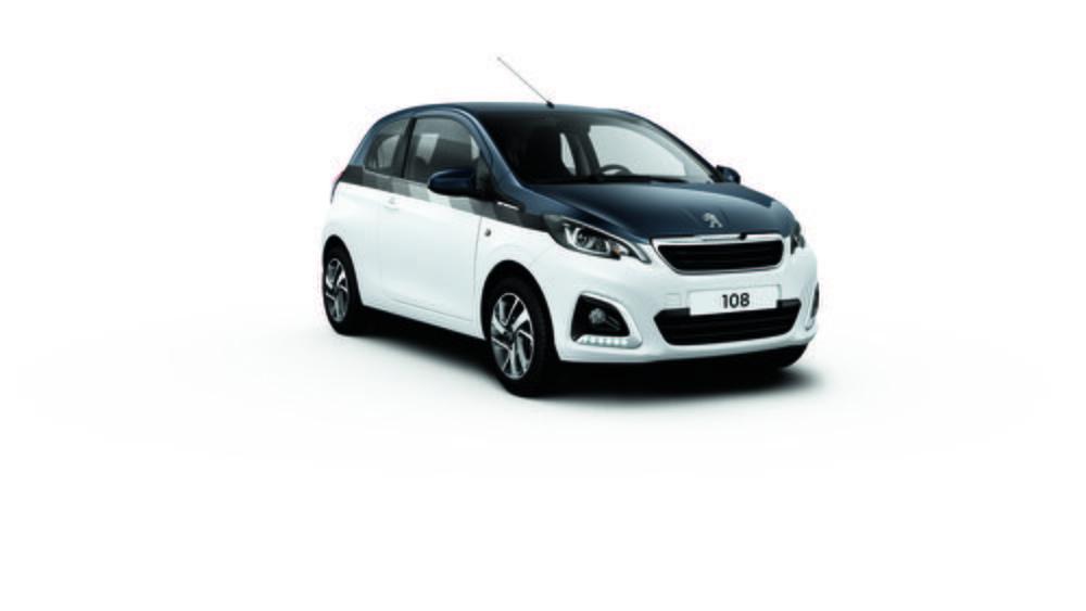Peugeot ofrece cuatro nuevas combinaciones de colores para la carrocería del 108. Además de una tonalidad amarilla para el interior.