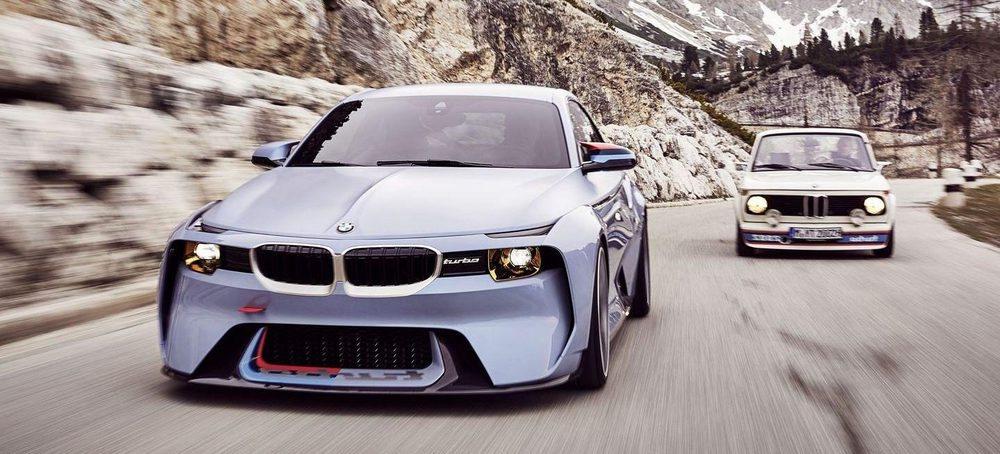 La fibra de carbono ha sido uno de los elementos principales usados en este BMW 2002 Hommage
