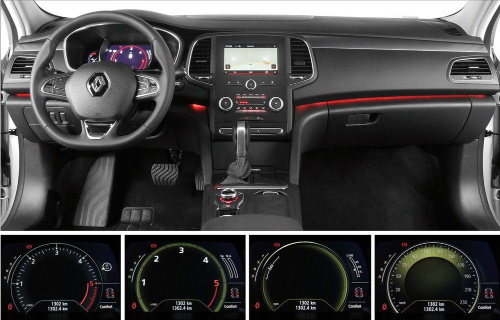 Al gusto del consumidor, la luz ambiental, los relojes, el volumen de los intermitentes... todo es personalizable, los relojes del cuadro también se pueden modificar. A la caja automática EDC le faltan las levas de cambio manual en el volante.