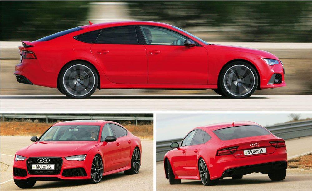 Mide más de cinco metros y pesa 2.025 kilos, pero el RS 7 Performance brilla por su eficacia y agilidad, y más aún con el diferencial deportivo opcional.