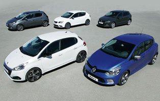 Opel Corsa/Peugeot 208/Renault Clio/Seat Ibiza/Volkswagen Polo. No hay quinto malo