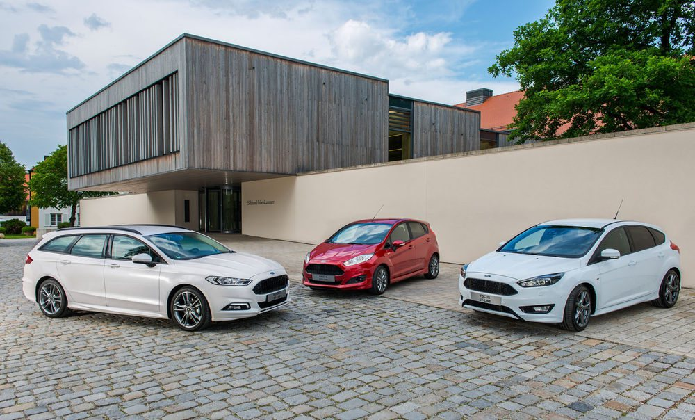 La gama ST Line de Ford crece con la llegada del Mondeo, que se suma a las versiones más deportivas del Focus y el Fiesta.
