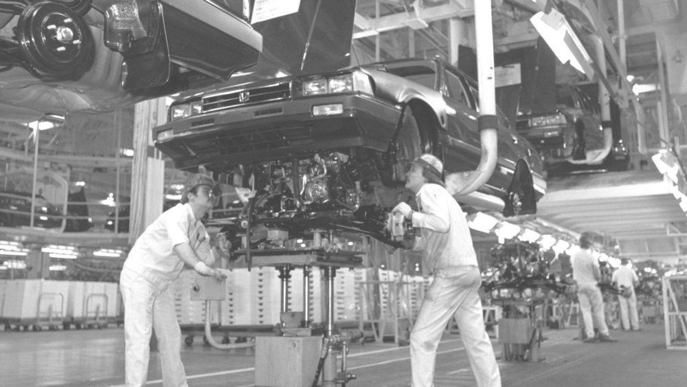 En el año 1982 se comienza a producir el Honda Accord en Estados Unidos. Fue la primera firma nipona en tener una planta en EE.UU. Allí precisamente se han vendido más de 12,7 millones de Honda Accord en estos 40 años de historia.