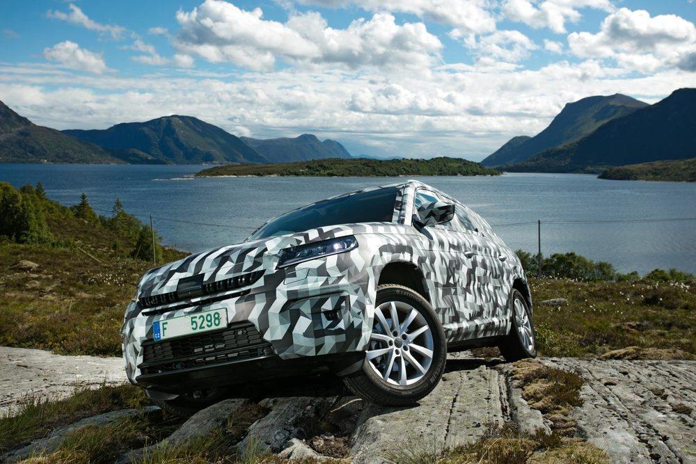 El Kodiaq ofrecerá unas más que notables capacidades off road.