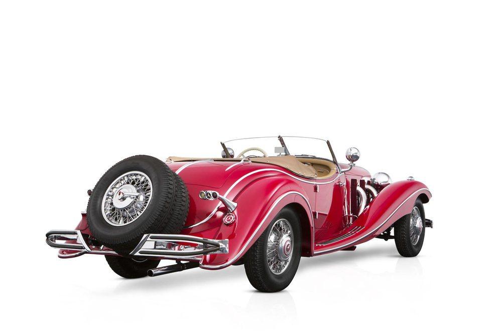 Entre los años 1934 y 1936 Mercedes Benz fabricó tan sólo 342 ejemplares de su 500K. Los más