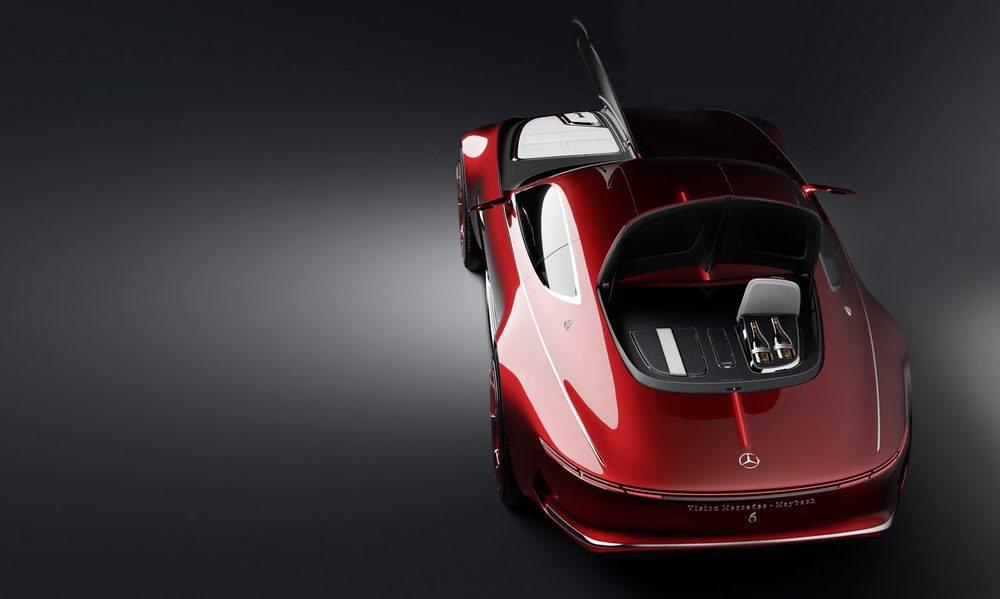 Con este prototipo, Mercedes-Maybach adelanta un futuro coupé de lujo. Sus líneas recuerdan a los aerodinámicos deportivos de la década de los años 30 y apuesta por unas puertas